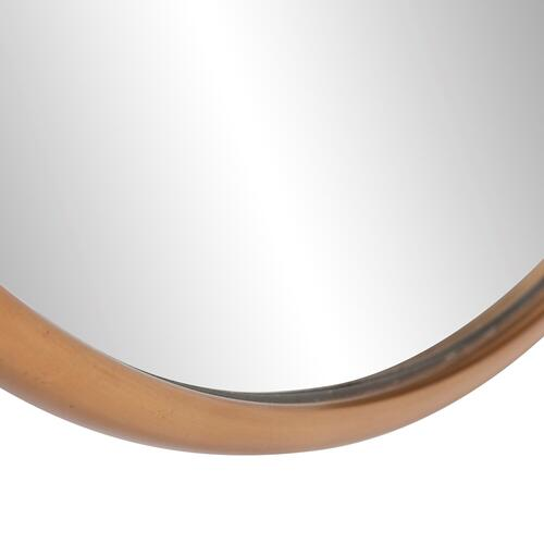 Howard Elliott - Yorkville Brass Small Round Mirror
