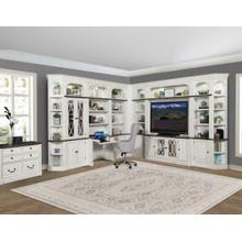 See Details - PROVENCE 12pc Library Wall with Lateral File and Writing Desk