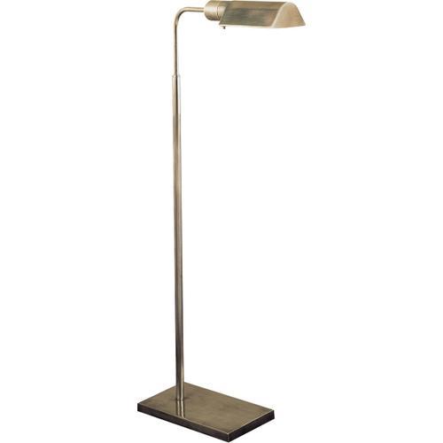 Studio Classic 34 inch 60 watt Antique Nickel Task Floor Lamp Portable Light