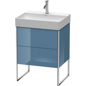 Vanity Unit Floorstanding, Stone Blue High Gloss (lacquer)