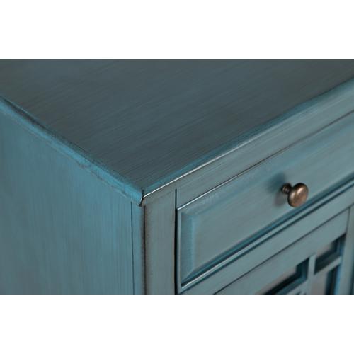 Jofran - Craftsman Accent Chest - Antique Blue