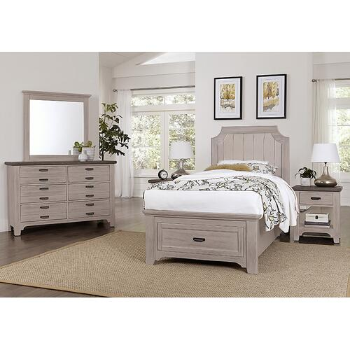 Upholstered Storage Bed Twin & Full