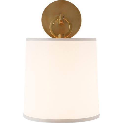 Barbara Barry French Cuff 1 Light 8 inch Soft Brass Decorative Wall Light
