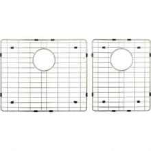 See Details - Stainless Steel Bottom Grid for Farmhouse/Apron Front Double Bowl Sink (HA225)
