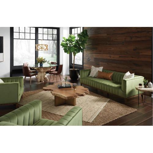 Betty Accent Chair Light Green