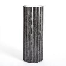 See Details - Reflective Column Pedestal-Black Cerused Oak