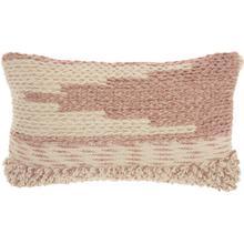 "See Details - Life Styles Dc465 Blush 14"" X 24"" Lumbar Pillow"