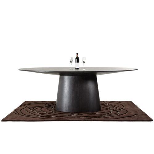 VIG Furniture - Modrest Stepford Modern Wenge Oval Dining Table