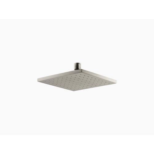 """Vibrant Brushed Nickel 8"""" Rainhead With Katalyst Air-induction Technology, 2.5 Gpm"""
