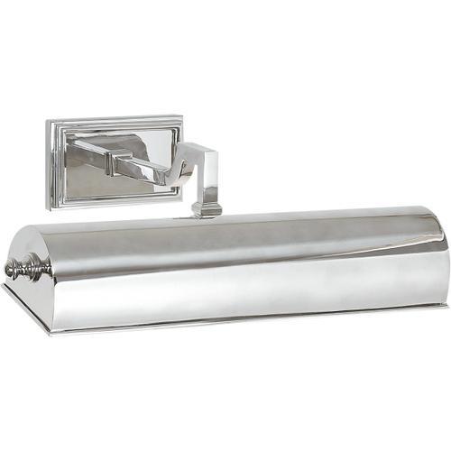 Alexa Hampton Dean 40 watt 14 inch Polished Nickel Picture Light Wall Light