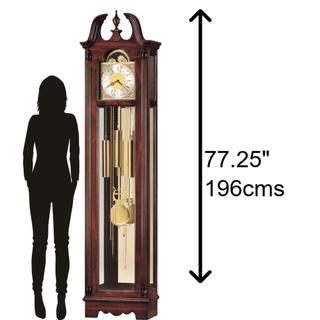 See Details - Howard Miller Nottingham Grandfather Clock 610733