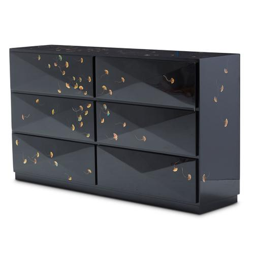 Illusions Windy Leaves Cabinet