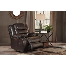 Vacherie Rocker Recliner Chocolate