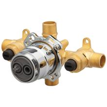 New - Treysta® Tub & Shower Valve- Horizontal Inputs With Stops- Ips/sweat