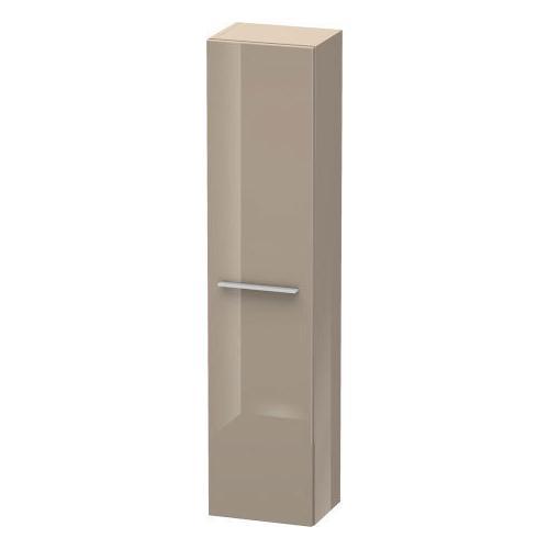 Duravit - Semi-tall Cabinet, Cappuccino High Gloss (lacquer)