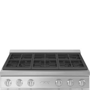 SmegCooktop Stainless steel RTU366GX