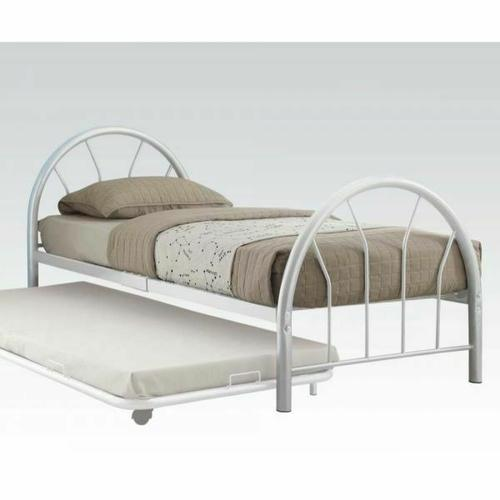 ACME Silhouette Twin Bed - 30450T-WH - White