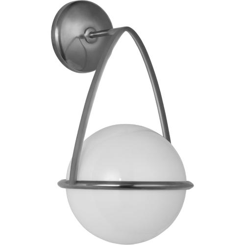 AERIN Lisette LED 8 inch Polished Nickel Bracketed Sconce Wall Light