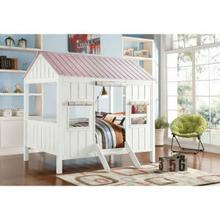 ACME Spring Cottage Full Bed - 37695F - White & Pink
