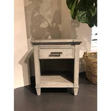 See Details - Willow Telephone Table - Pewter