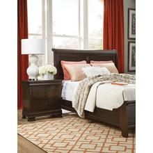 See Details - Queen Sleigh Bed W/Low Footboard