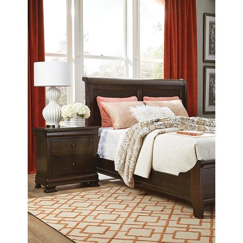 Durham Furniture - Queen Sleigh Bed W/Low Footboard