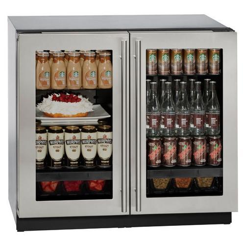 "U-Line - 3036rrgl 36"" Refrigerator With Stainless Frame Finish (115 V/60 Hz Volts /60 Hz Hz)"
