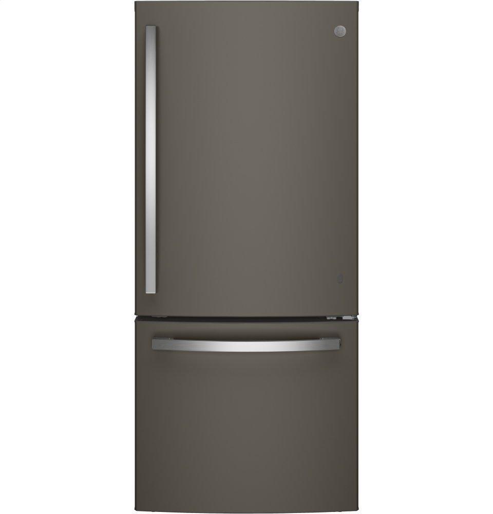GE®energy Star® 21.0 Cu. Ft. Bottom-Freezer Refrigerator