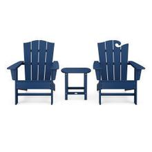 View Product - Wave Collection 3-Piece Set in Navy