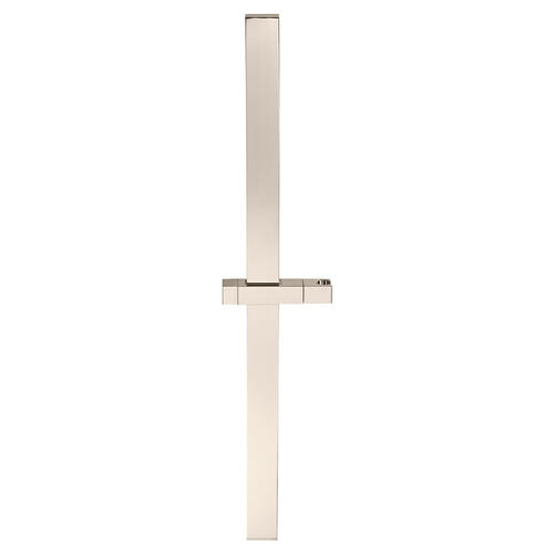 30 Inch Square Slide Bar - Polished Nickel
