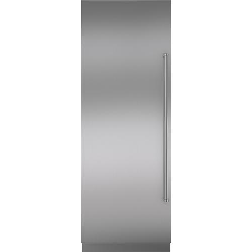 "Sub-Zero - Stainless Steel Door Panel with Pro Handle and 4"" Toe Kick - LH"