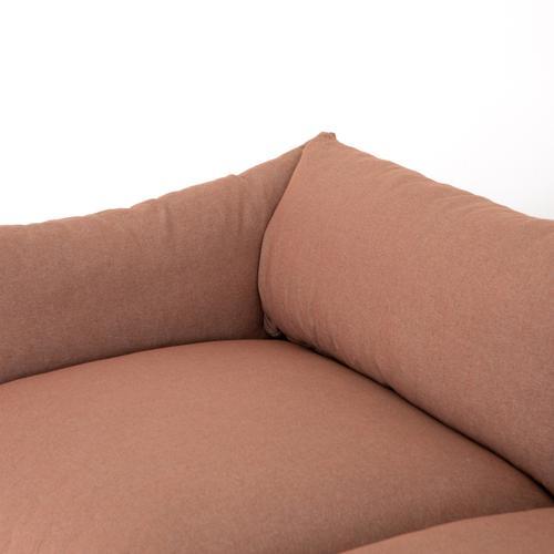 """96"""" Size Vesuvio Rust Cover Habitat Sofa"""