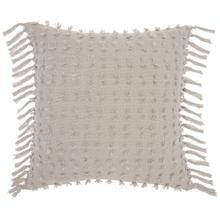 "Life Styles Gt037 Khaki 20"" X 20"" Throw Pillow"