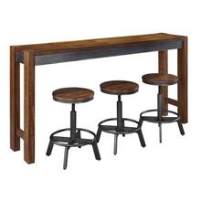 See Details - Torjin - Two-tone Brown 5 Piece Dining Room Set
