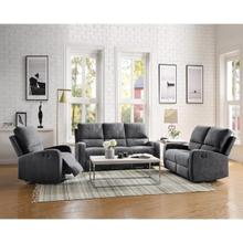 19s,kge gray loveseat recliner