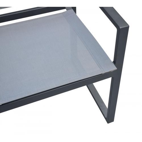 VIG Furniture - Renava Kayak - Modern Charcoal Outdoor Dining Armchair (Set of 2)