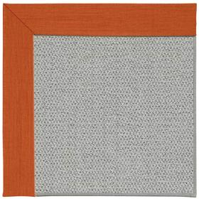 Inspire-Silver Rave Tangerine Machine Tufted Rugs