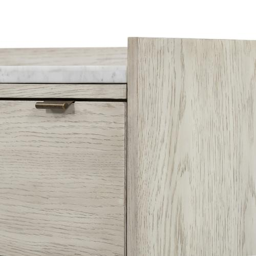 Viggo 6 Drawer Dresser-vintage White Oak