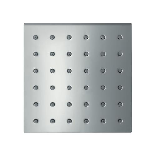 Stainless Steel Optic Shower module 120/120 for concealed installation square