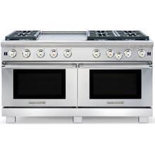 """60"""" Cuisine Range Natural Gas - ARR6602GDN Dual Oven, Sealed burners, Griddle"""