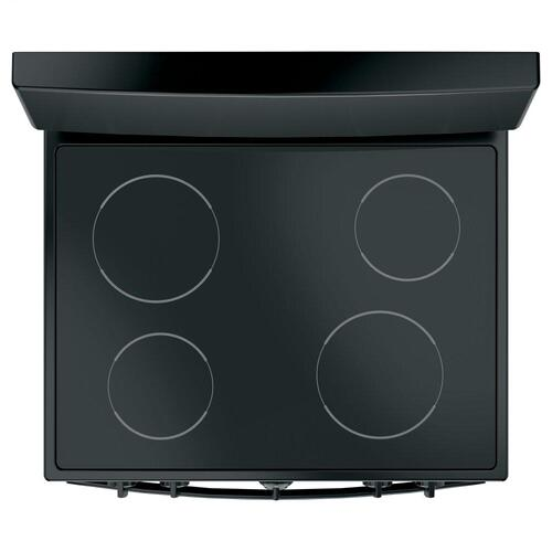 """GE Appliances - GE 30"""" Free-standing Electric Radiant Smooth Cooktop Range"""