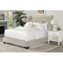 CHLOE - MERINGUE Upholstered Bed Collection (Natural)