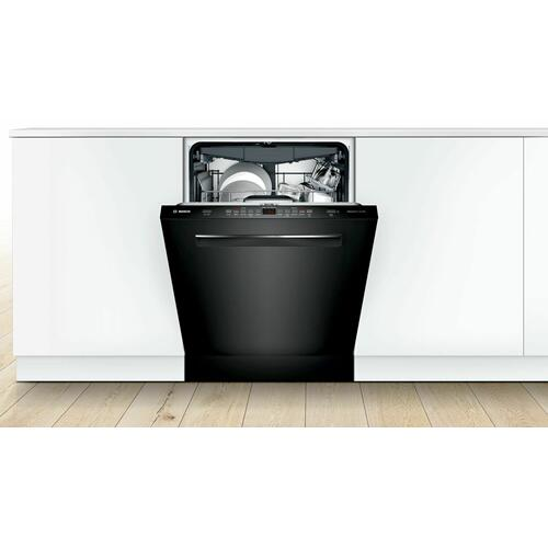 Bosch - 500 Series Dishwasher 24'' Black SHPM65Z56N