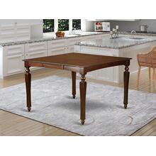 """Chelsea Gathering 54"""" square counter height dining table with 18"""" butterfly leaf"""