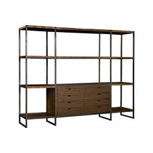 Expose Display Unit Center Shelves