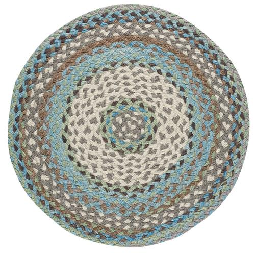 Wanderer Ocean Blue Braided Rugs