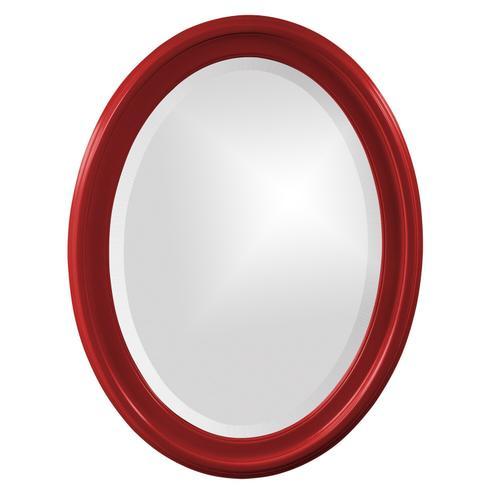 Howard Elliott - George Mirror - Glossy Red
