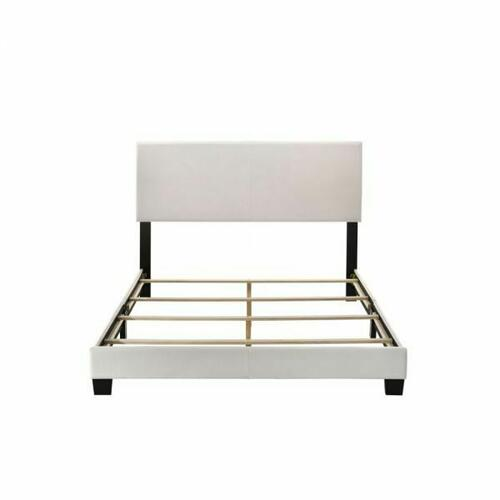 ACME Lien Queen Bed - 25710Q - White PU