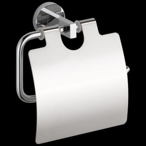Chrome Tissue Holder with Cover Product Image