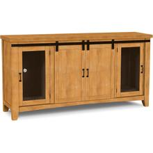 Hannah Barn Door Entertainment Center